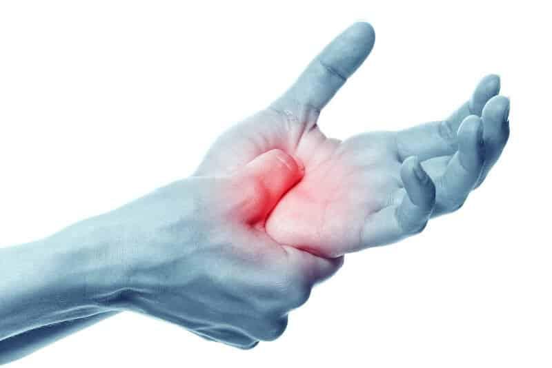 effets secondaires apres operation canal carpien - sensation de decharge electrique dans la main